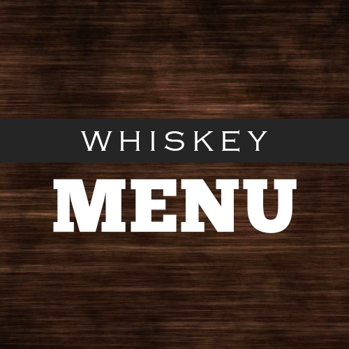 Whiskey Menu